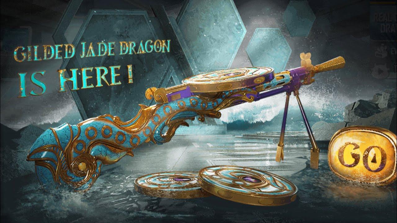 EP132: Glided Jade Dragon 🐉 DP28 is beautiful! PUBGM