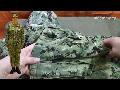 Trên Tay Bộ Rằn Ri Của Lực Lượng đặc Nhiệm SEAL Của Hải Quân Mỹ