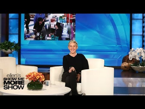 Ellen in Kris Jenners Ear