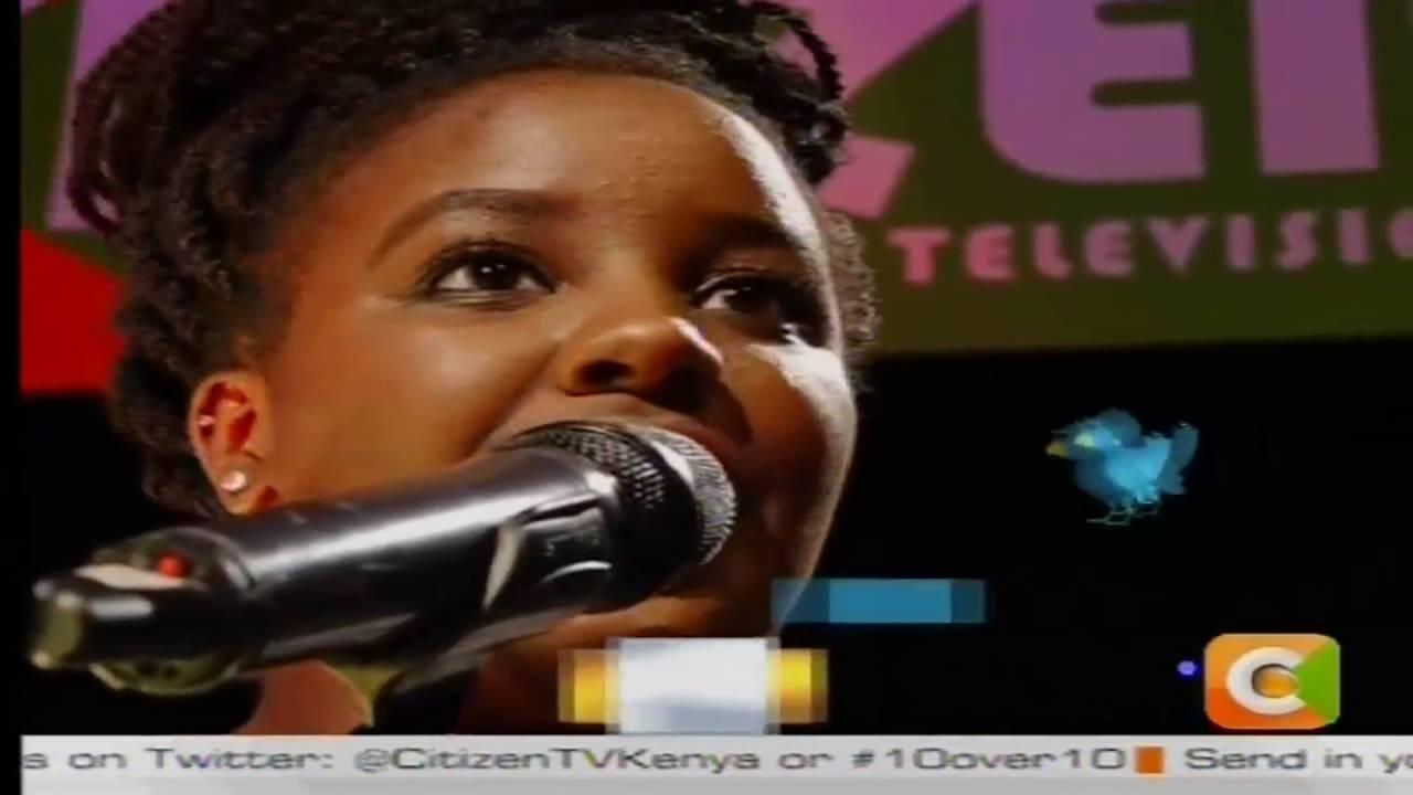 10 over 10: Michelle Bisonga amazing mashup cover of Kenyan songs