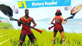 "Fortnite ""JUMPSHOT and TRIPLE THREAT"" SKIN GAMEPLAY.."