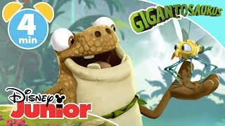 Gigantosaurus | Top Moments: Mazu The Scientist! ✨ | Disney Junior UK