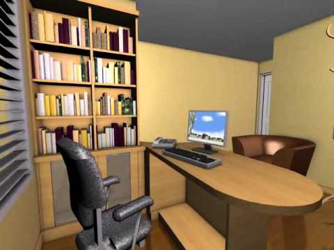 Jorge bella estudio jur dico 1 youtube for Como decorar una oficina de abogados
