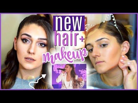Ariana Grande On Ellen 2018 NEW Hair/Makeup Tutorial   Amber Greaves