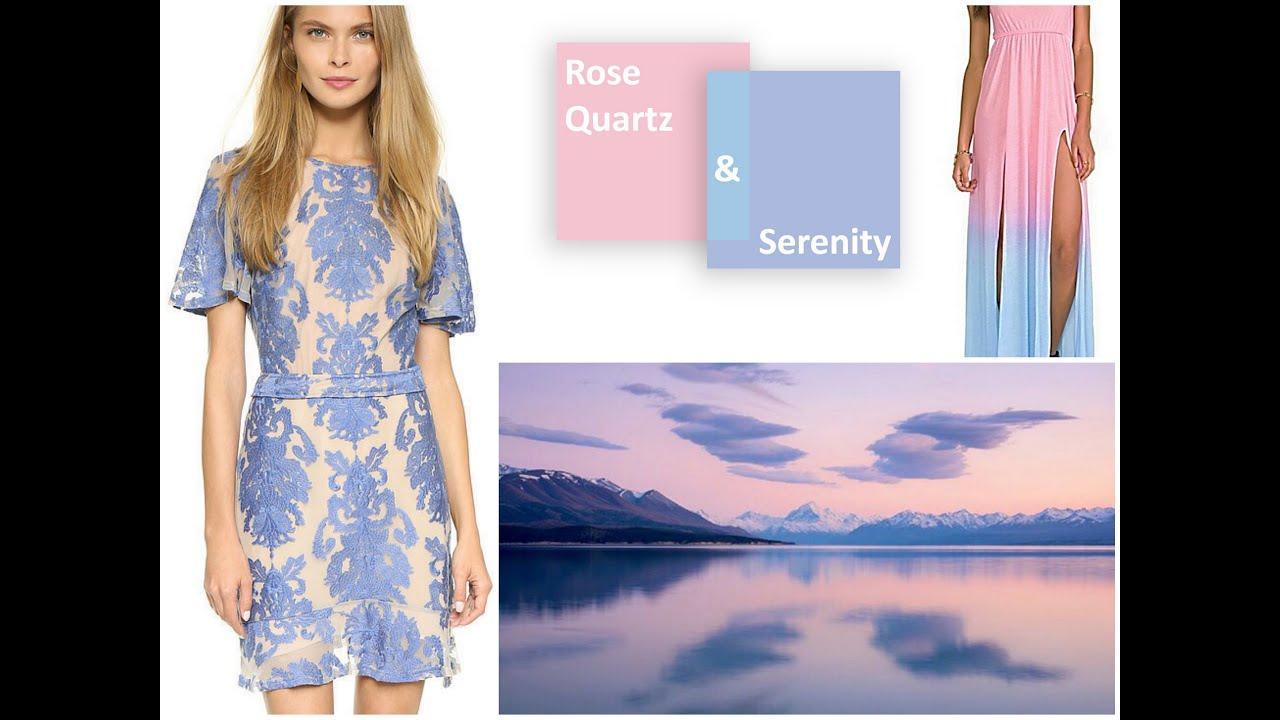 Pastel Color Fashion LookBook - Pantone Rose Quartz Color
