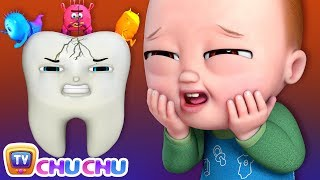 No No Brush My Teeth Song - ChuChu TV Nursery Rhymes & Kids Songs