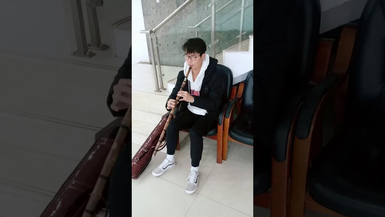 """美丽的神话竹笛伴奏_箫 无伴奏演奏""""美丽的神话""""片段 - YouTube"""