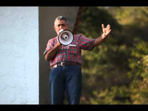 General Angel Vivas le da un mensaje a sus vecinos y a Venezuela