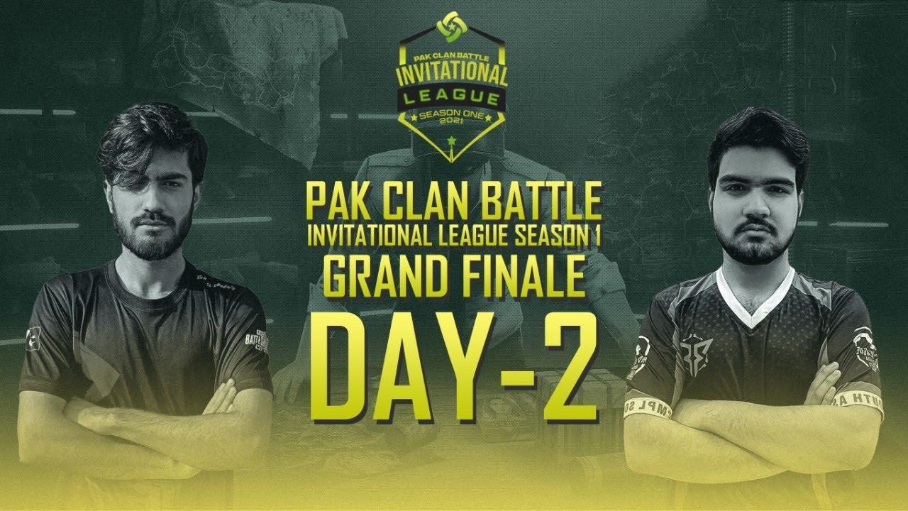 PCB Invitational League S-1 GRAND FINALE   Day 2   Pak Clan Battle