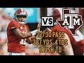 Tua Tagovailoa    vs.  Texas A&M