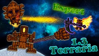 Terraria 1.3 (Expert) - Голем (Golem)