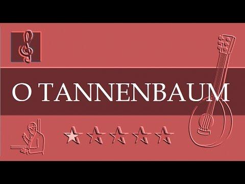 Mandolin TAB - O TANNENBAUM (Sheet music - Guitar chords) | Easy Music