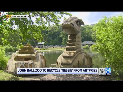 John Ball Zoo to recycle 'Nessie' from ArtPrize