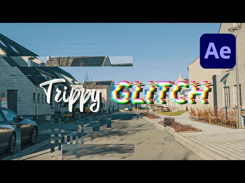 Trippy Glitch Projection Effect in After Effects Tutorial