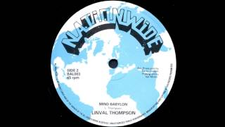 "Linval Thompson - Mind Babylon (12"")"