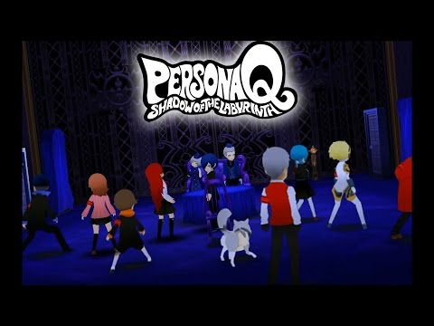 Persona Q: Shadow of the Labyrinth - Citra Emulator (CPU JIT) [1080p] - Nintendo 3DS - 동영상