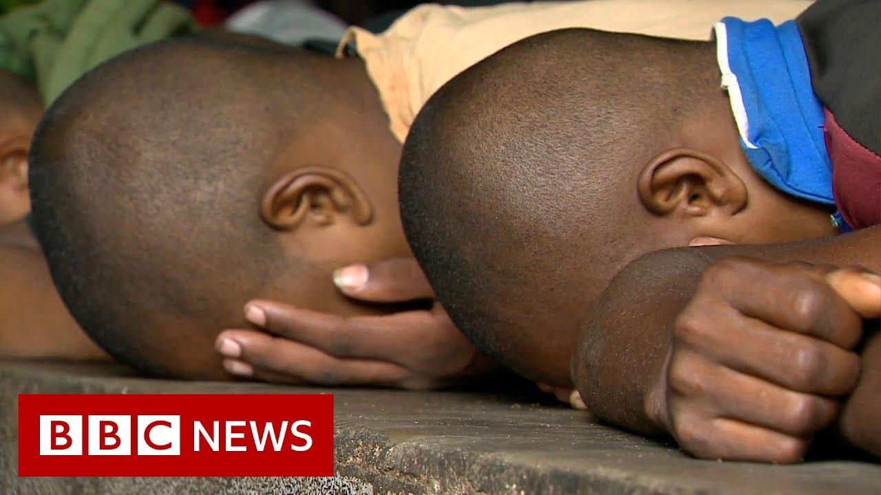 The children in prison for stealing vanilla - BBC News