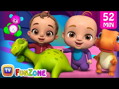 Are You Sleeping? (Dino) \u0026 Many More Popular 3D Nursery Rhymes Collection By ChuChu TV Funzone