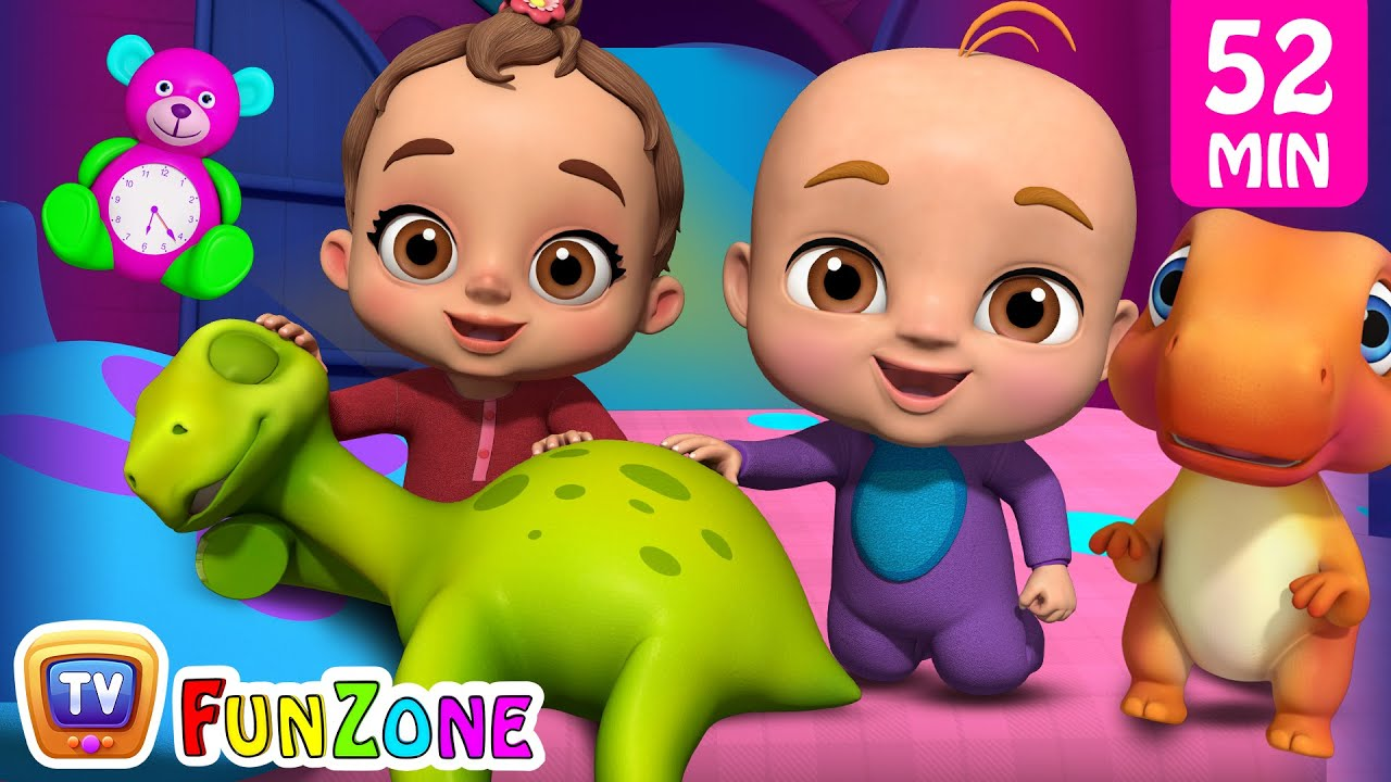 Are You Sleeping? (Dino) & Many More Popular 3D Nursery Rhymes Collection by ChuChu TV Funzone