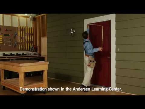 Andersen Storm Doors: How To Measure