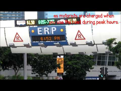 Singapore's Way To Improve Road Conditions - Electronic Road Pricing