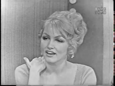 To Tell the Truth - Undercover transit policewoman; PANEL: Julie Newmar (Jan 27, 1959)