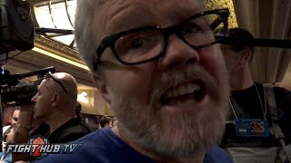 "Freddie Roach on Rousey KO loss ""It was embarrassing a bit, no one taught her about boxing"""