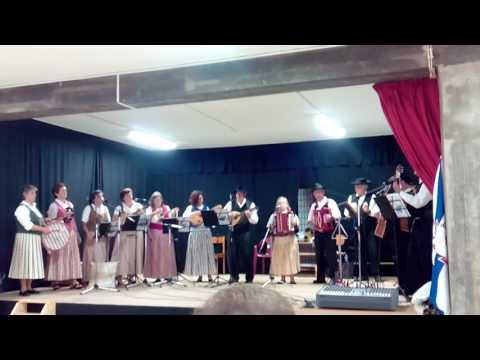 Associação Barquinha Saudosa canta Zé Que Fumas em Boa Aldeia, Viseu
