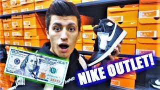 BEST $100 SNEAKERS AT NIKE OUTLET YOU CAN BUY (Nike Outlet Challenge)