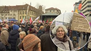 Germans protest against racism after New Year's Eve sex attacks