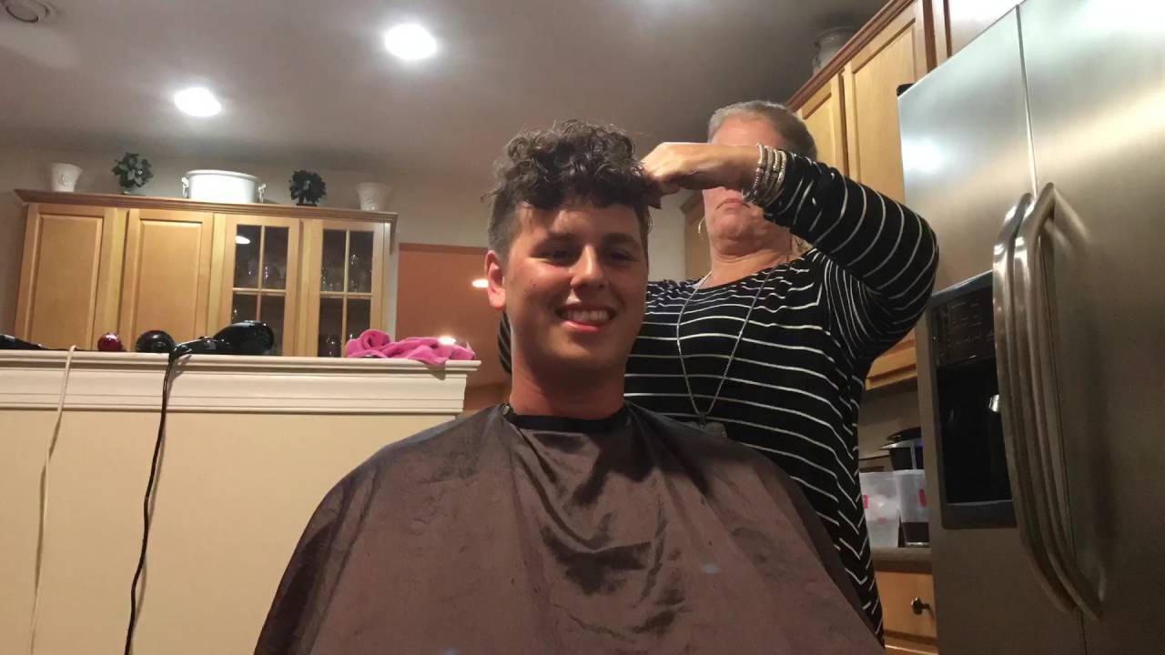 Christopher Air Force Rotc Haircut Youtube