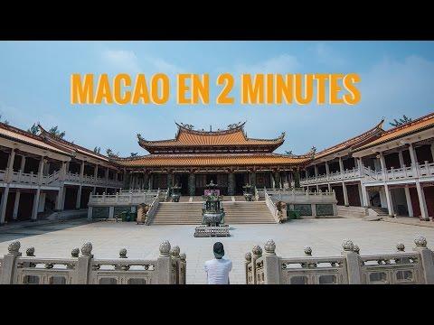 VISITER MACAO EN 2 MINUTES