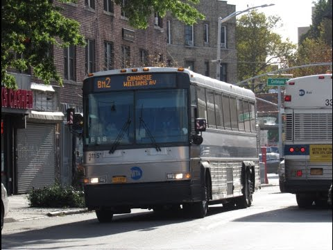 MTA Bus: MCI and New Flyer Action at Courtelyou Road and Stratford Road