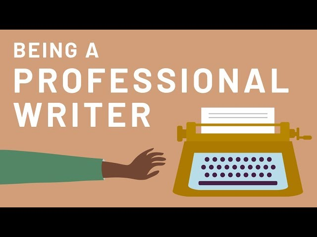 Being a Professional Writer