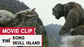 KONG  SKULL ISLAND Movie Clip   Skull Crawler vs Kong 2017 Tom Hiddleston Mons Full HD