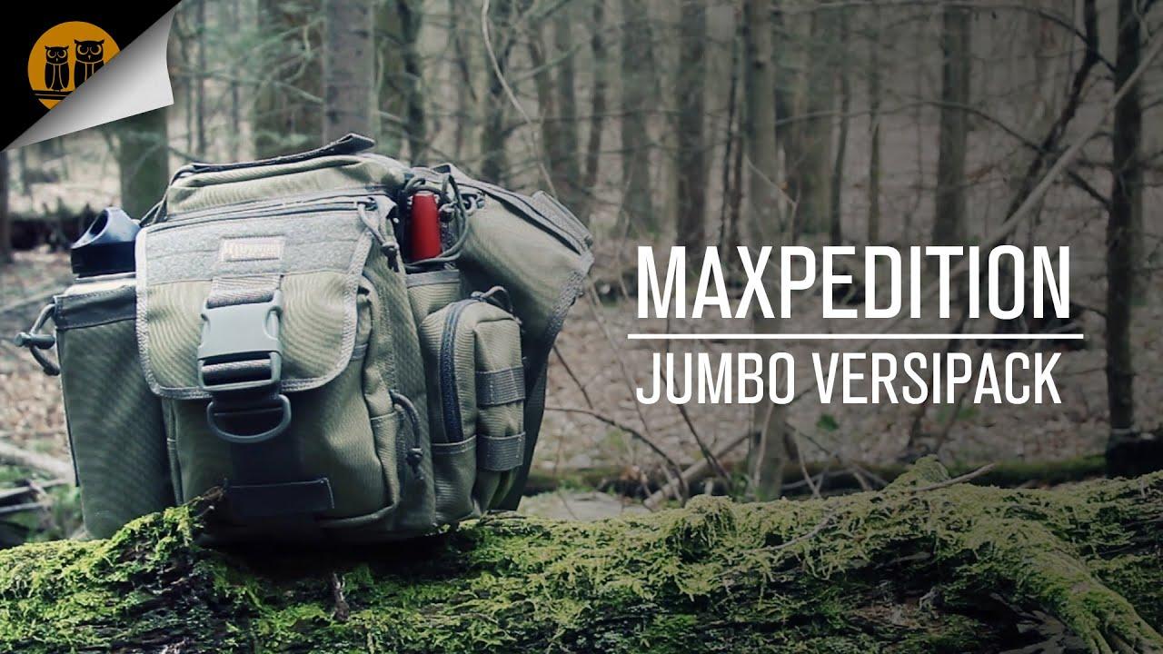 Maxpedition Jumbo Versipack • Field Review - YouTube