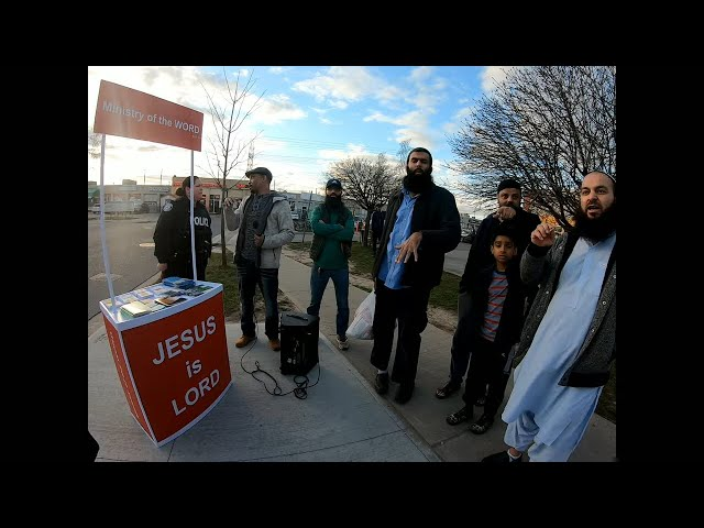 Muslims hear the Gospel