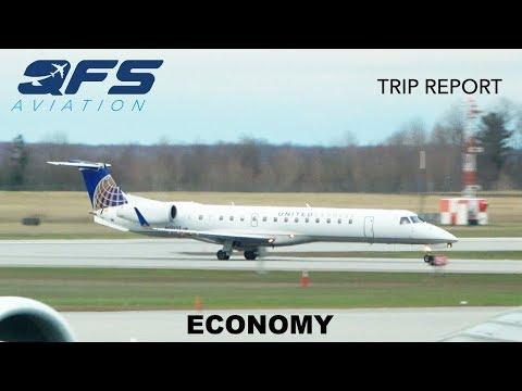 TRIP REPORT   United Express - ERJ 145 - Newark (EWR) to Ottawa (YOW)   Economy