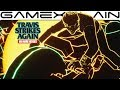 Drag Racing Tron Style in Travis Strikes Again: No More Heroes (Golden Dragon GP Stage Gameplay)