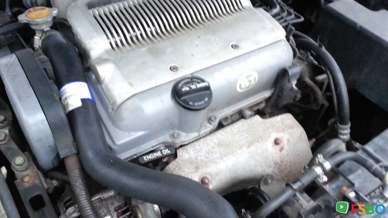 Under Hood - 1993 Lexus GS 300 Black on Black Leather - YouTube