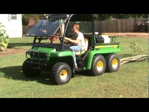 john deere gator 6x4 th diesel summer video youtube. Black Bedroom Furniture Sets. Home Design Ideas