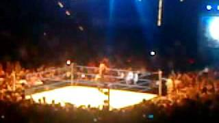 undertaker goes out live in stuttgart