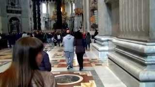 Поездка в Рим (март 2015) Ватикан-Собор Святого Петра (Vatican, St. Peter's Basilica)(Экскурсия Ватикан-Собор Святого Петра (Vatican, St. Peter's Basilica). ДРУГИЕ ПОЕЗДКИ: ..., 2015-04-08T05:25:41.000Z)