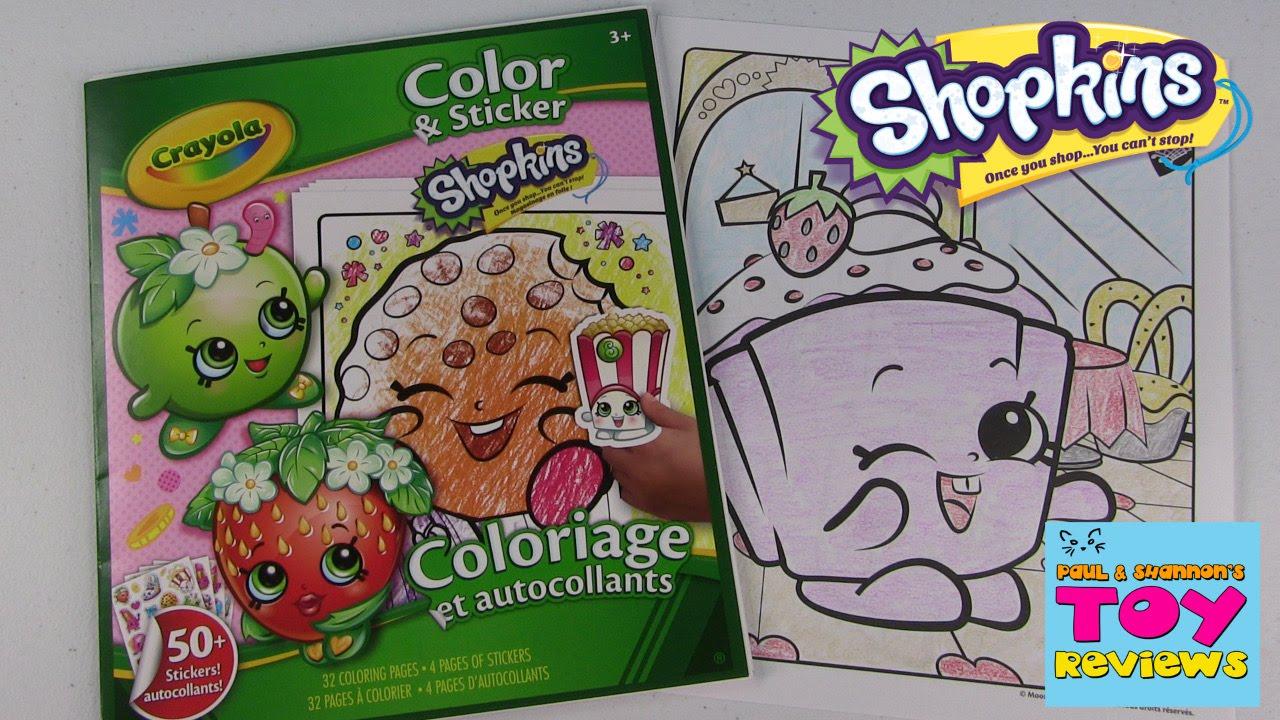 Shopkins Crayola Coloring Page  Cupcake Chic DIY  Color With
