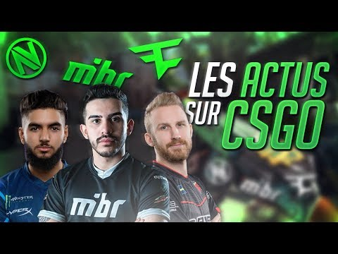 TARIK QUITTE CLOUD9, ENVYUS KICK SON EQUIPE L'ACTUALITÉ ESPORT [CSGO NEWS]