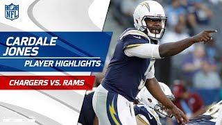 Every Cardale Jones Play vs. Los Angeles | Chargers vs. Rams | Preseason Wk 3 Player Highlights