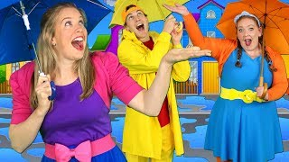 Rain Rain Go Away - Nursery Rhyme with Rainy Day Activities! Nursery Rhymes & Songs for Children