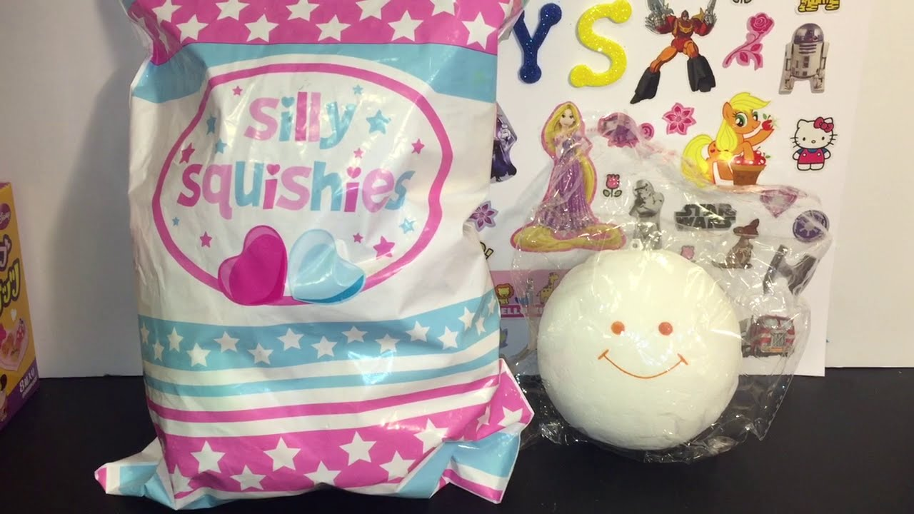 Squishy Toys Package : Squishy Package Opening Episode #1 // Silly Squishies: iBloom, Hello Kitty, Sanrio, Rilakkuma ...