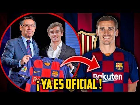 ¡CONFIRMADO! GRIEZMANN YA ES DEL FC BARCELONA - PAGO CLAUSULA