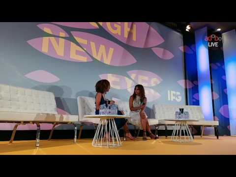 adoboLive at the IPG Womens Breakfast: Halle Berry
